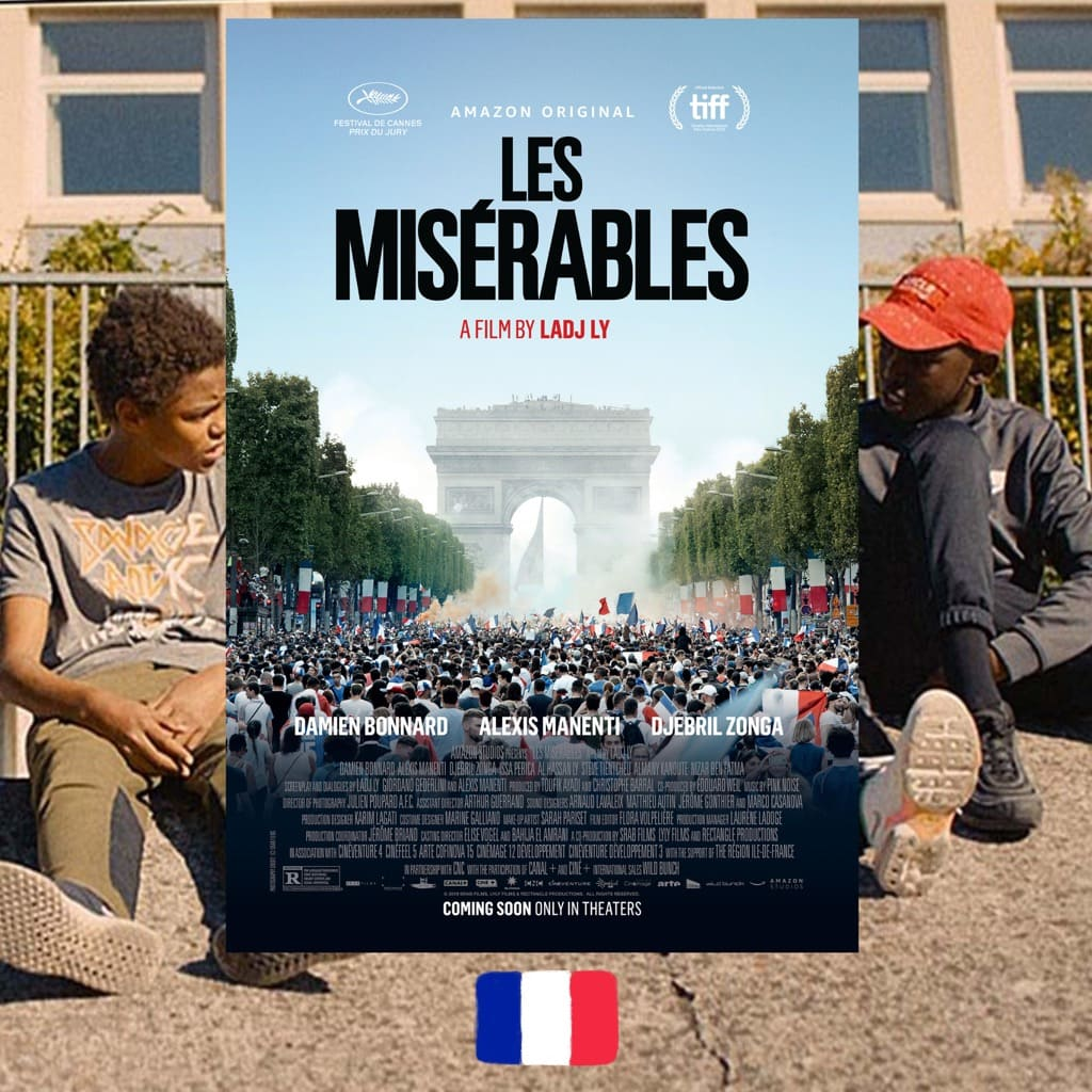 Les Misérables, Ladj Ly, movie poster