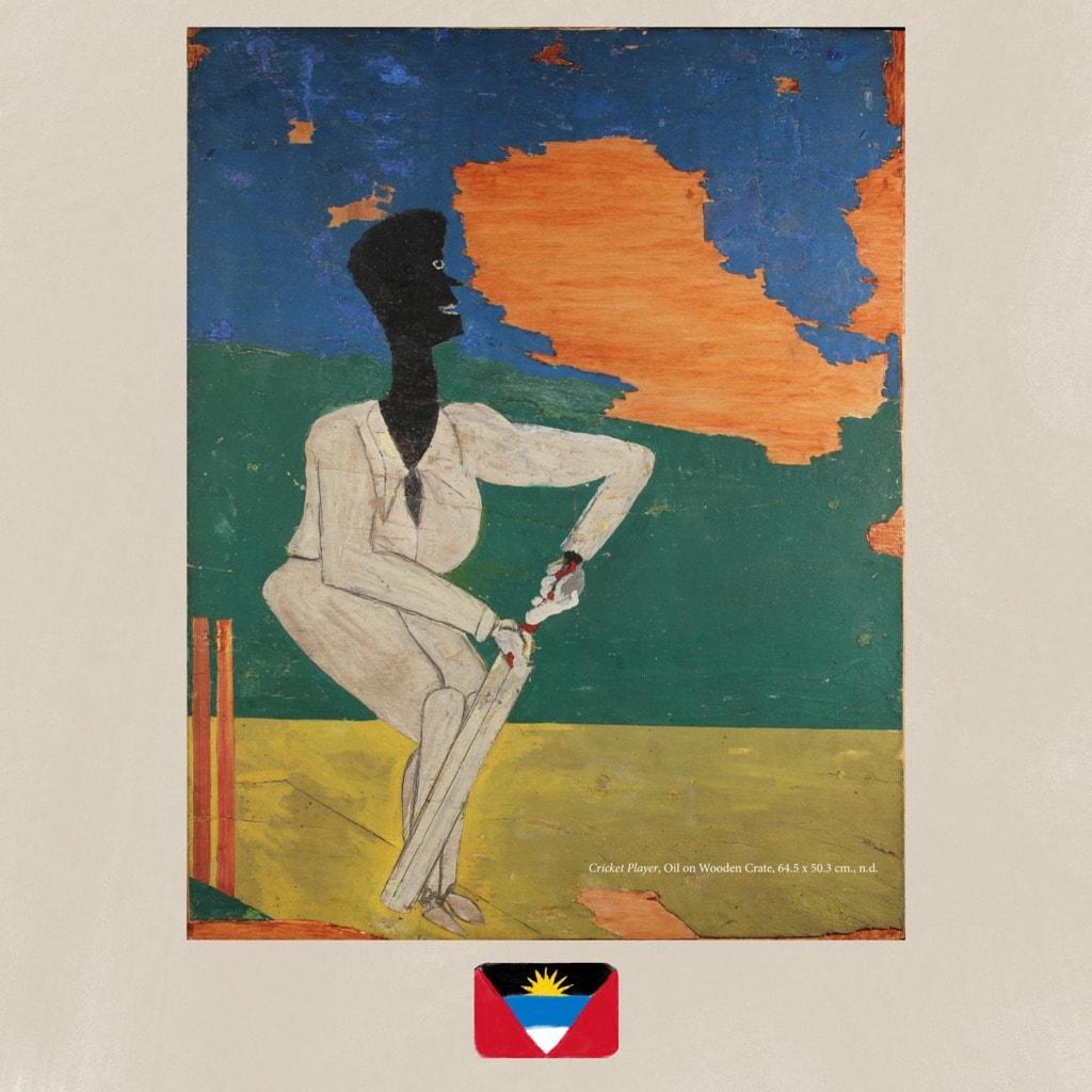 Frank Walter, artist, painting
