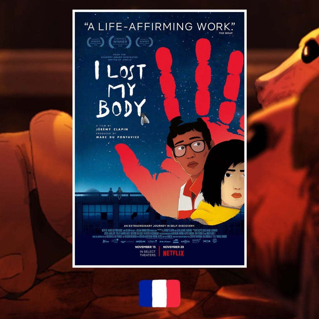 I Lost My Body, Jérémy Clapin, movie, film poster