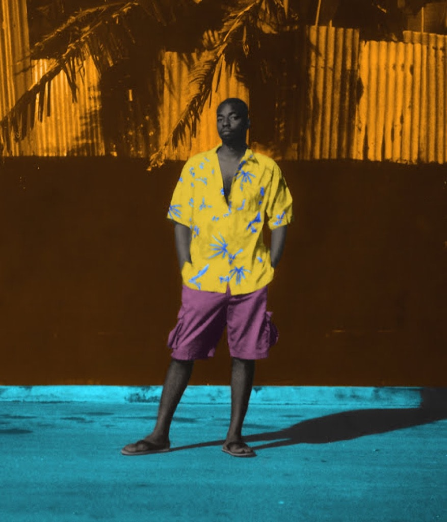 Barbadian-American Artist Mark King