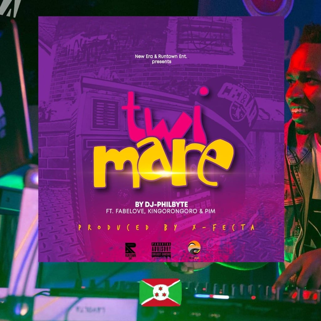 DJ Philbyte,v Twimare, album cover