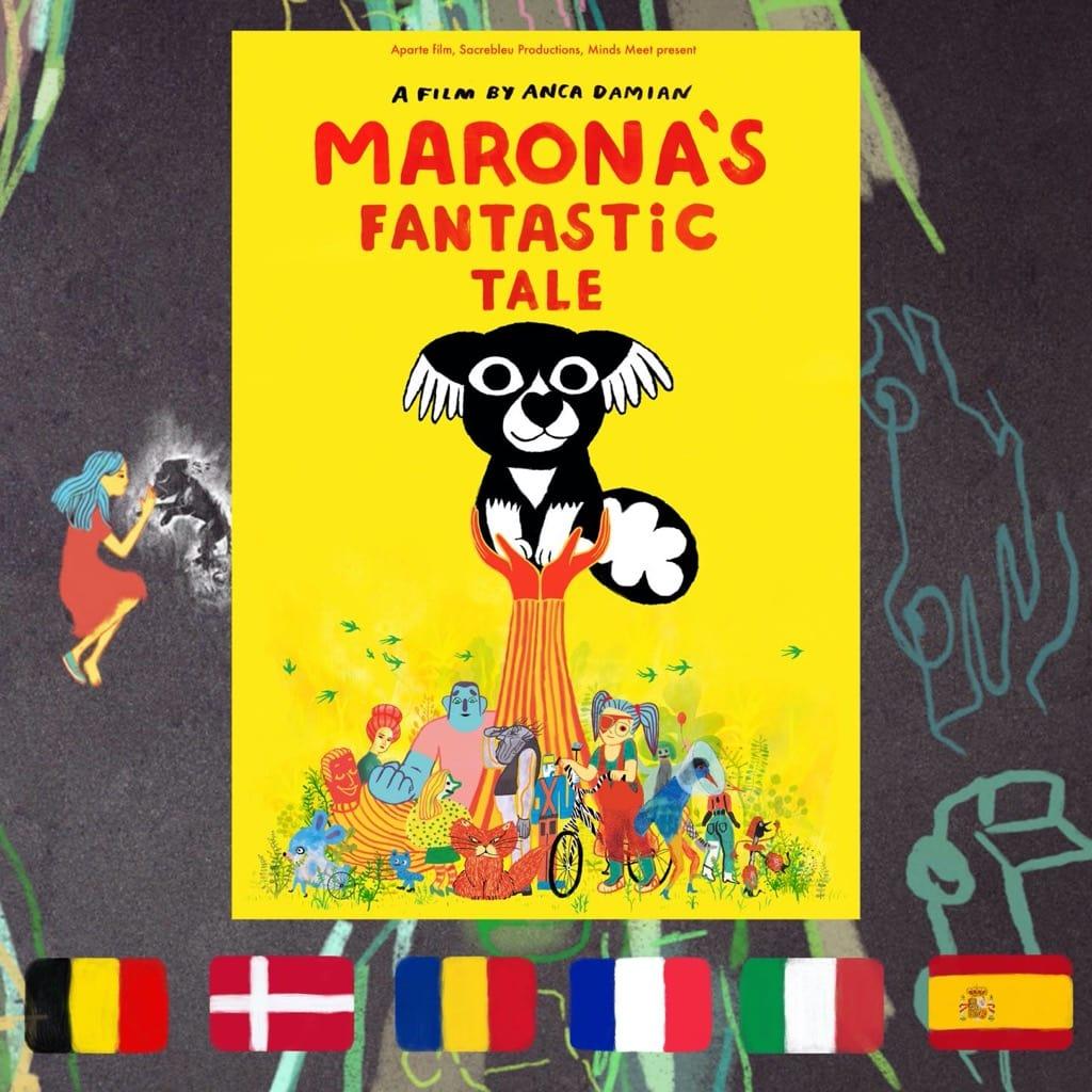 Marona's Fantastic Tale, Anca Damian, movie poster