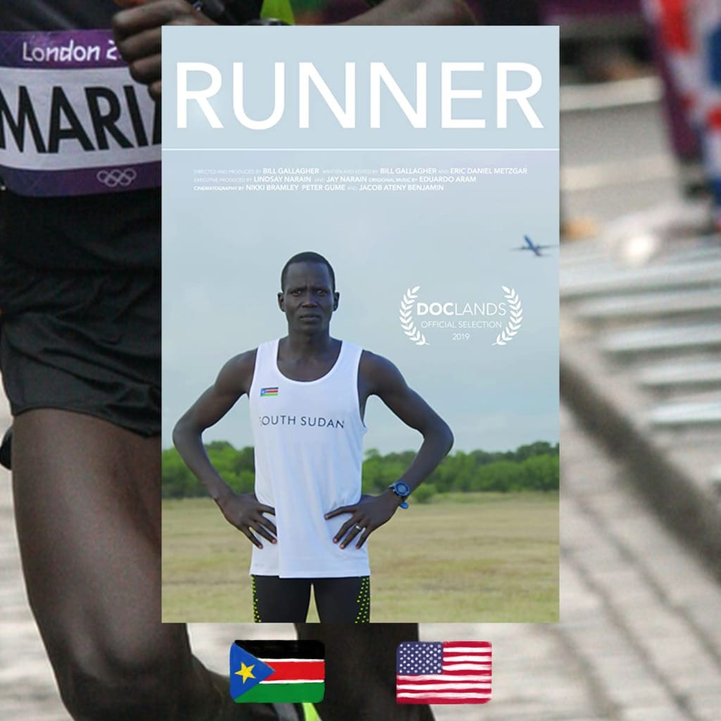 Runner, Bill Gallagher, Guor Mading Maker, movie poster
