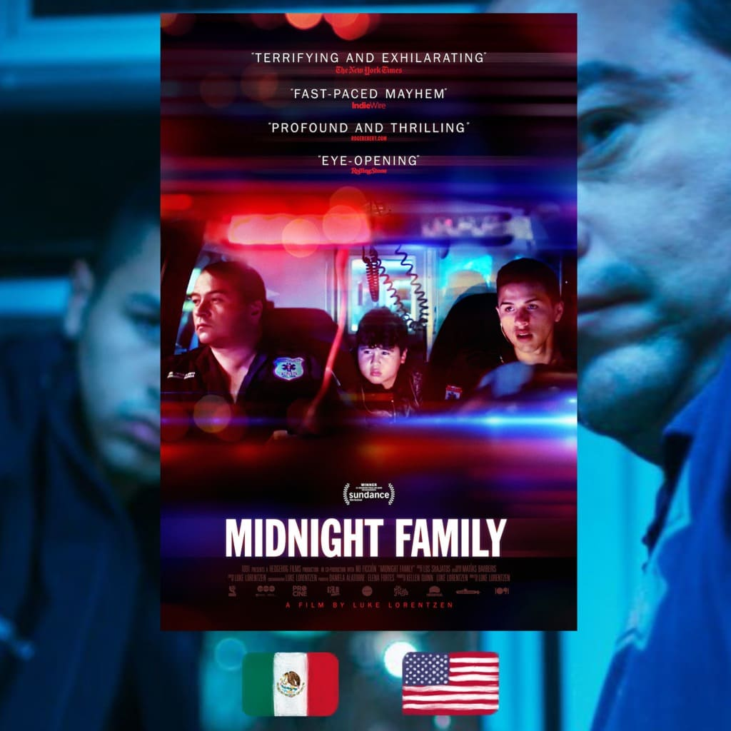 Midnight Family, Luke Lorentzen, movie poster