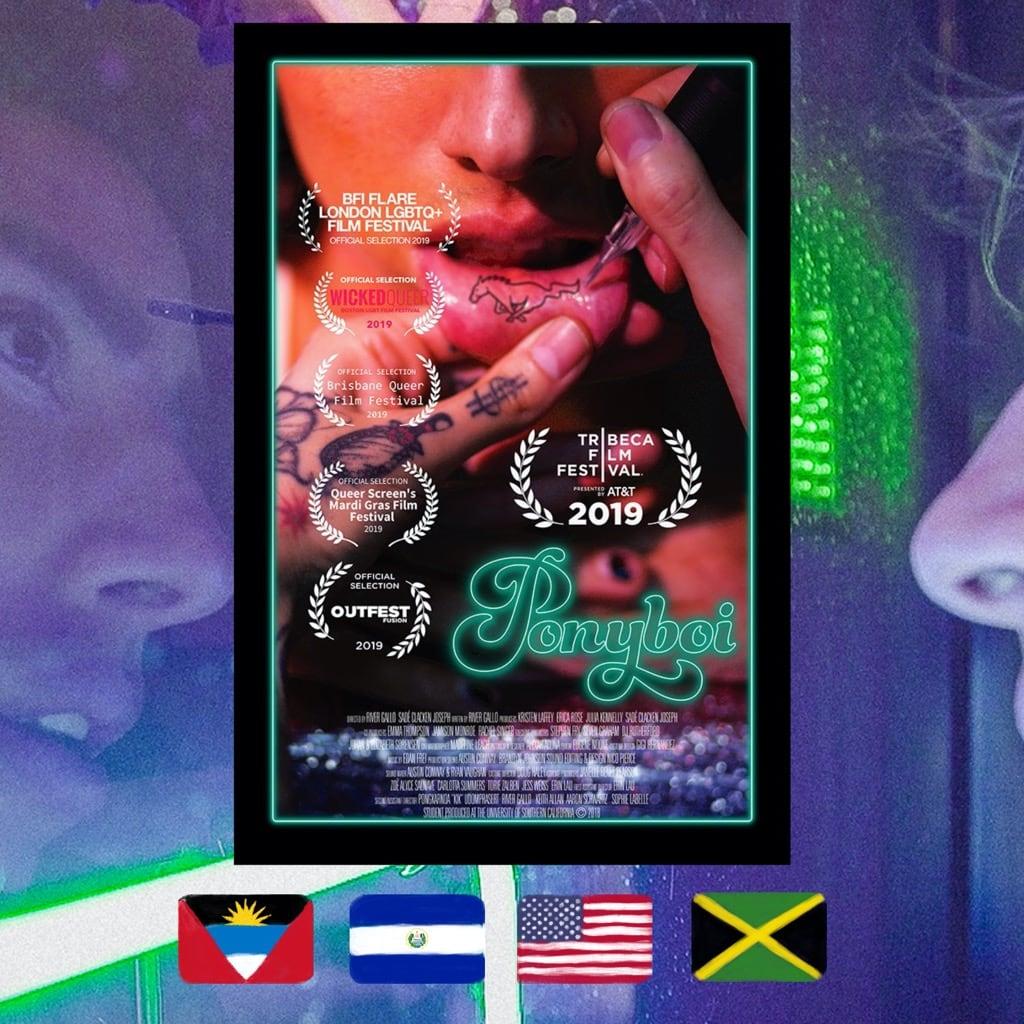 Ponyboi, River Gallo, Sadé Clacken Joseph, movie poster