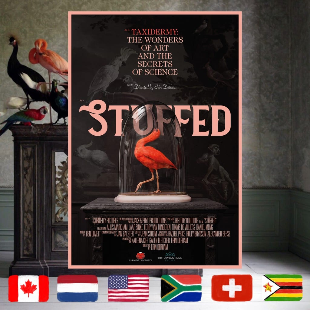 Stuffed, Erin Derham, movie poster