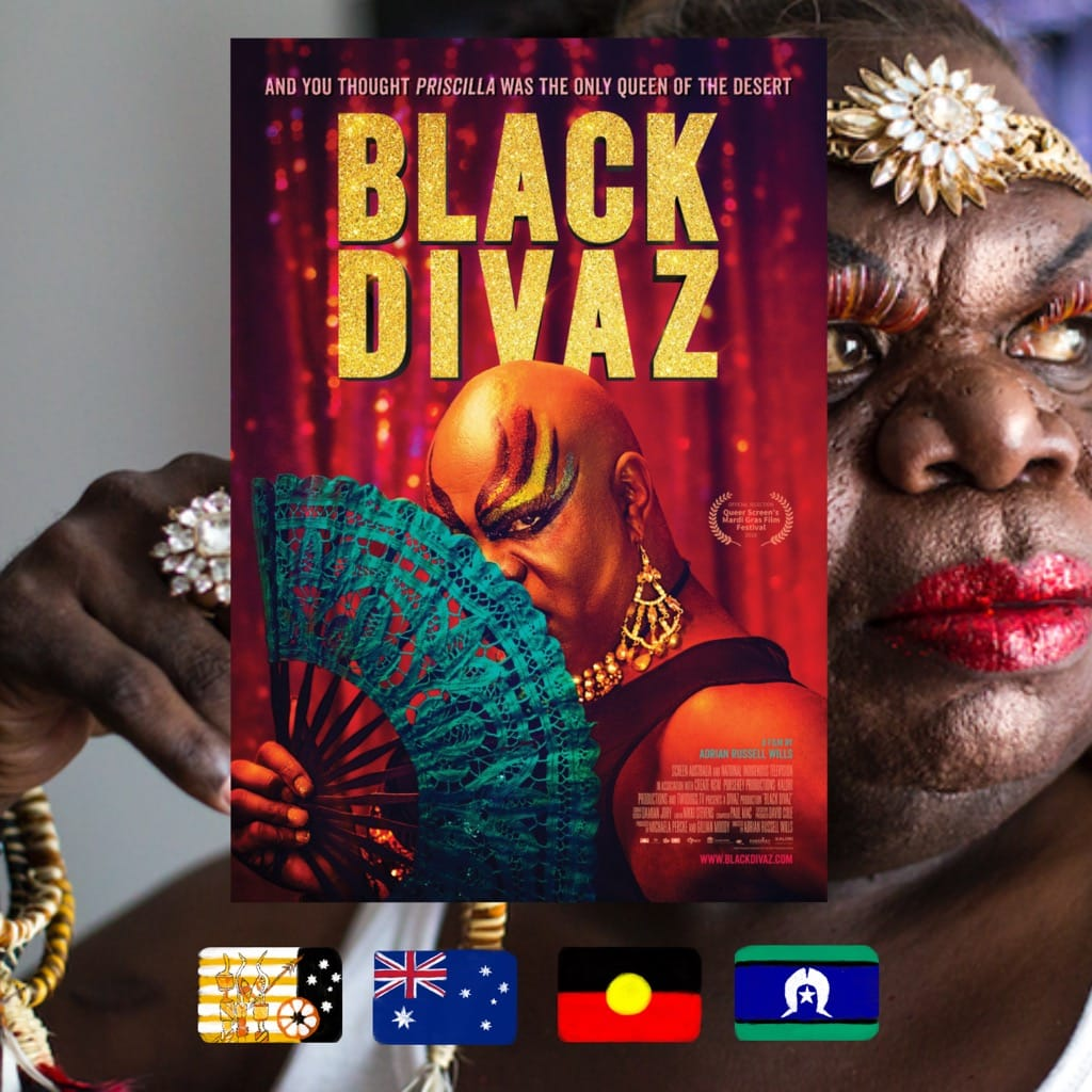 Black Divaz, Adrian Russell Wills, movie poster