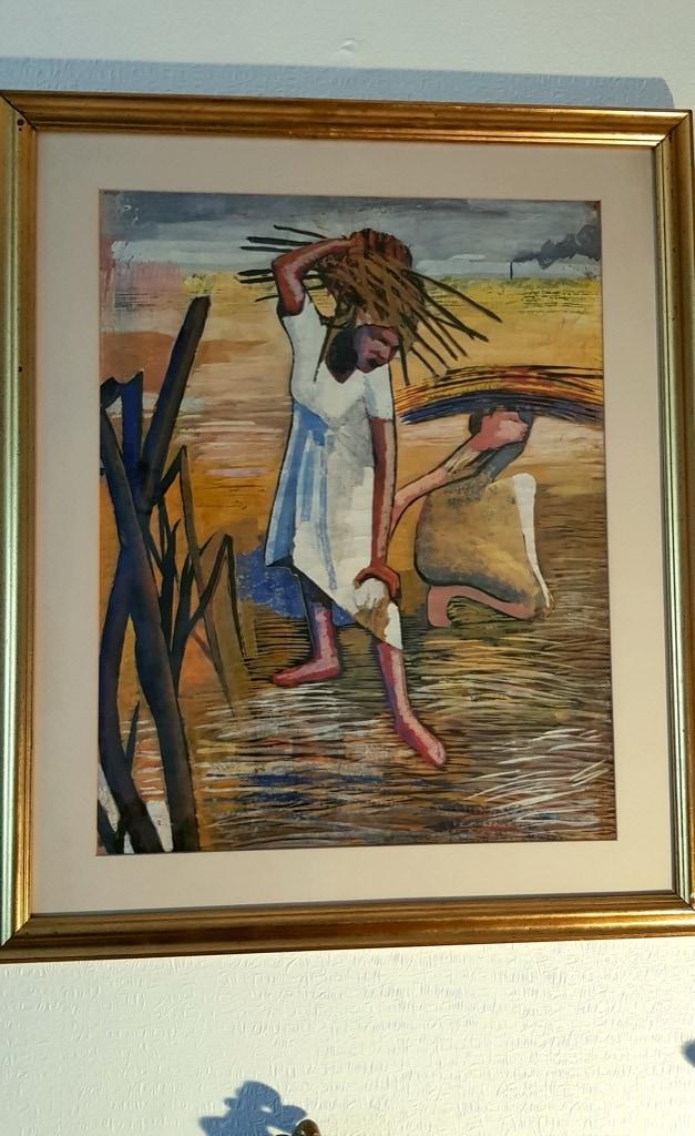 Patrick Barrington, painting field