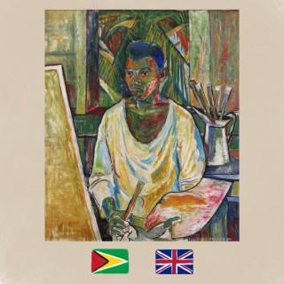 Patrick Barrington, artist, self-portrait