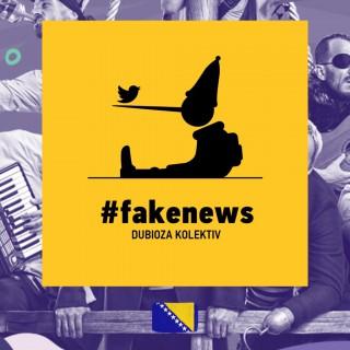 Dubioza Kolektiv, #fakenews, album cover