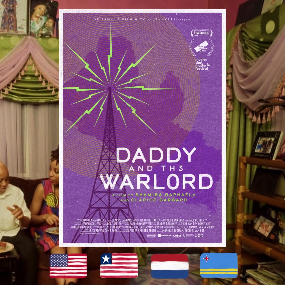 Daddy and the Warlord, Shamira Raphaëla, movie poster