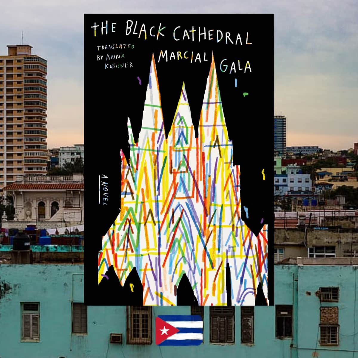 Black Cathedral, Marcial Gala, book cover