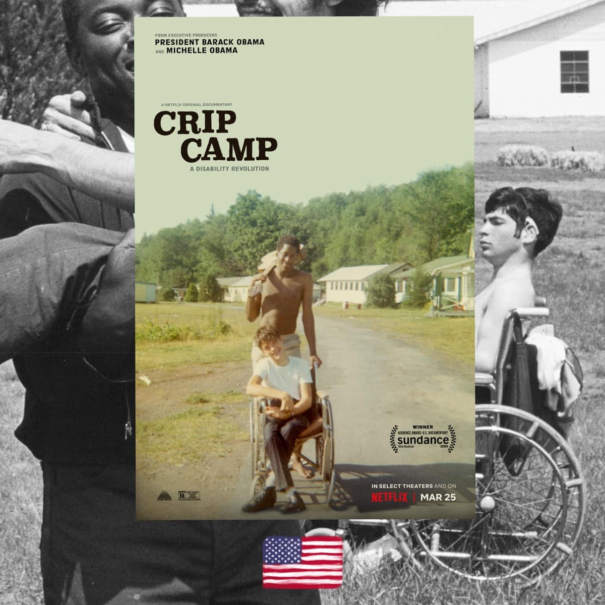 Crip Camp, James Lebrecht, Nicole Newnham, movie review