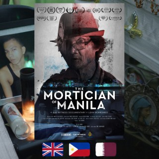 The Mortician of Manila, Leah Borromeo, movie poster