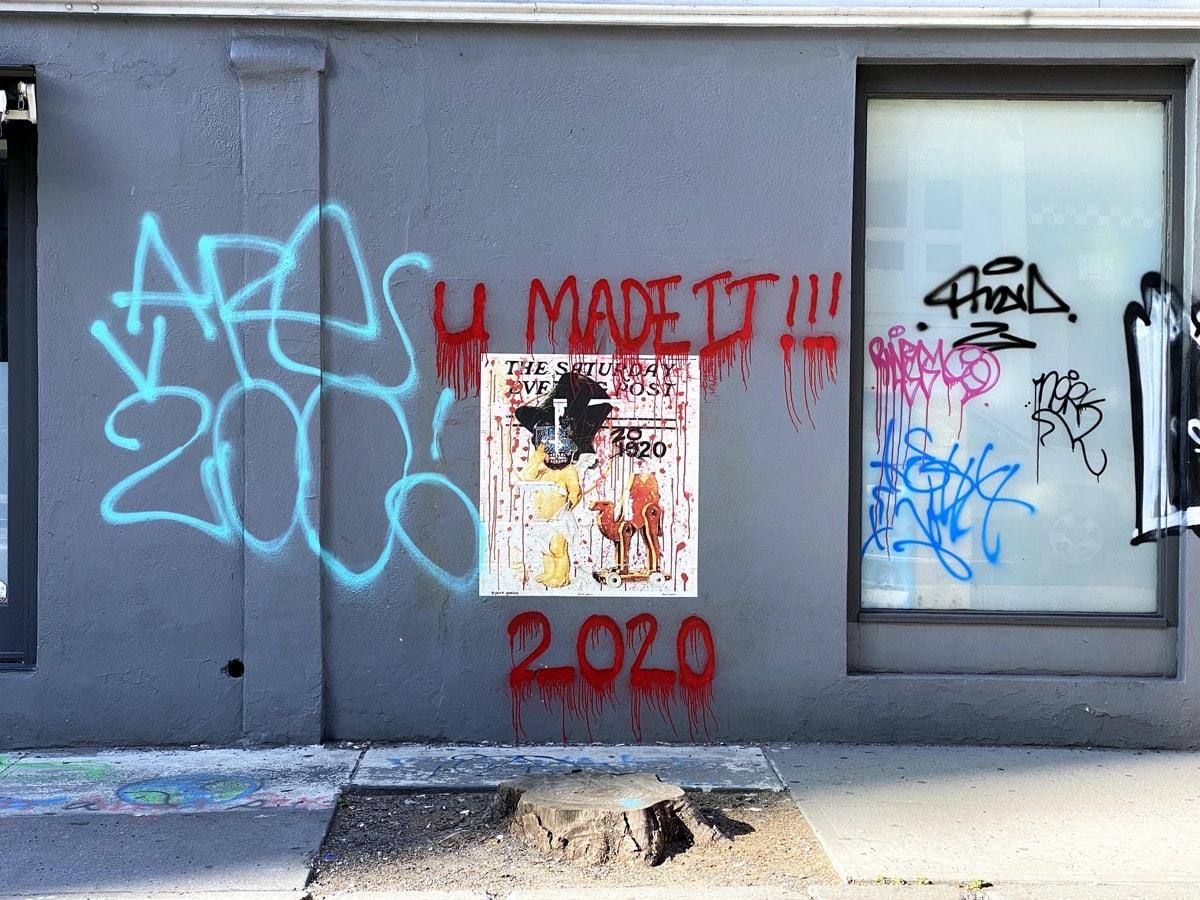 Juneteenth, Art in SoHo, Black Lives Matter, BLM, 2020, Protests