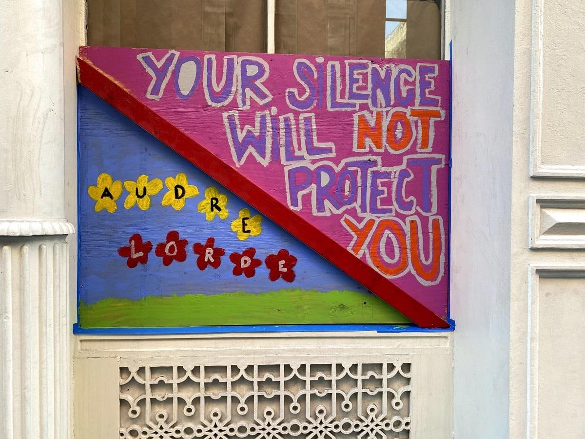 SoHo, Art, Black Lives Matter, BLM, Protests, plywood