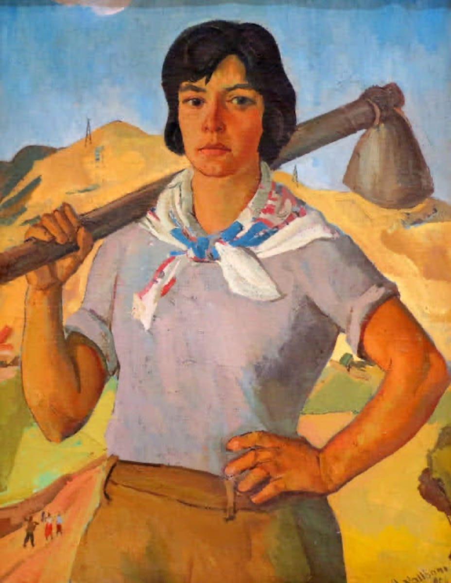 Hasan Nallbani, painting, artist