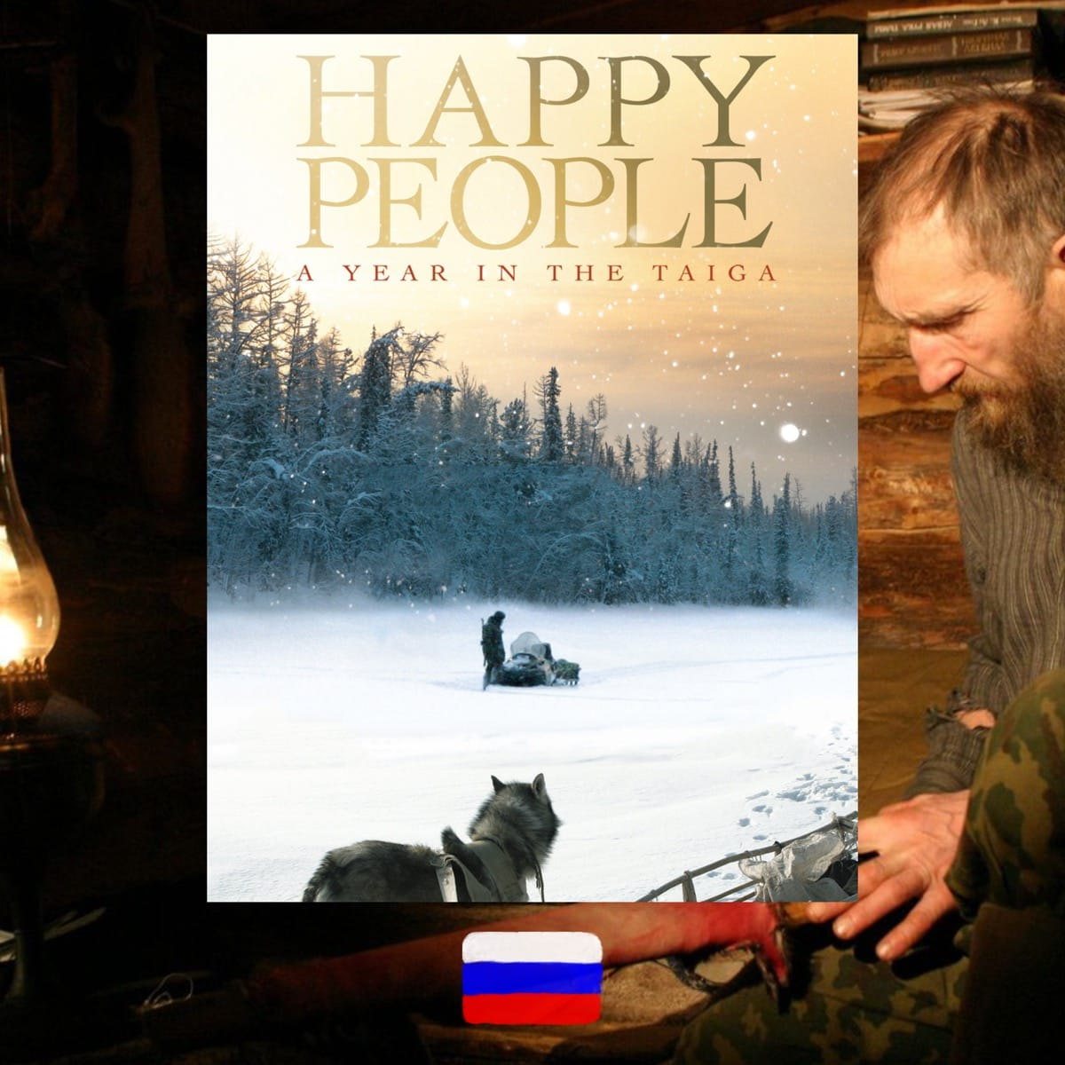 Happy People: A Year in Taiga', diHappy People: A Year in Taiga, Dmitriy Vasyukov, movie poster