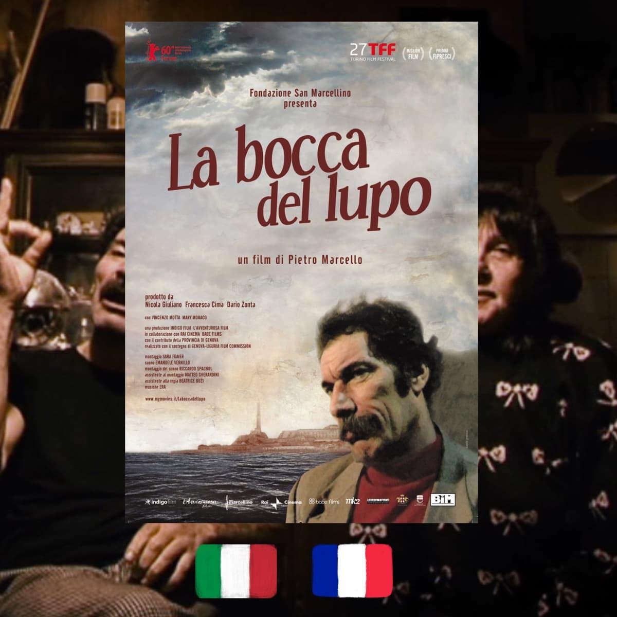 The Mouth of the Wolf, Pietro Marcello, La bocca del lupo, movie poster